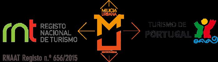 Milícia Urbana Indoor Paintball com registo RNAAT no RNT e Turismo de Portugal